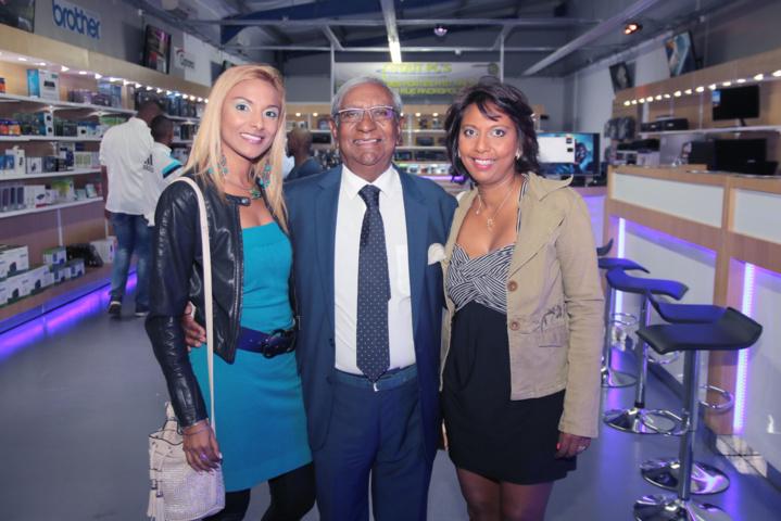 Ketty Sarane, Jean-Paul Virapoullé, et Lynda Savaranin
