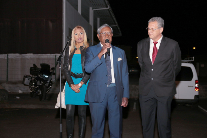 Ketty Sarane, Jean-Paul Virapoullé et Charles-Henri Donz