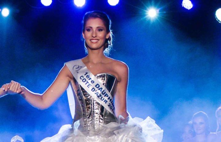 Jade Scotte, la nouvelle Miss côte d'Azur 2016.