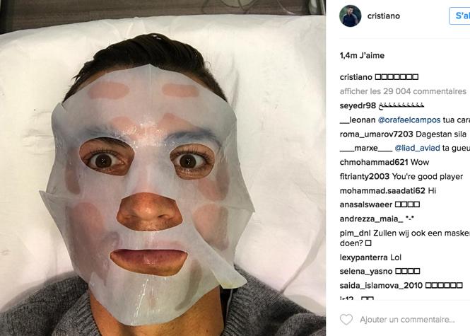 Ronaldo accro aux botox ?