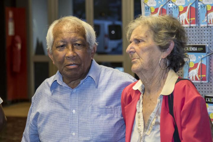 Roland Raëlison et Bernadette Ladauge