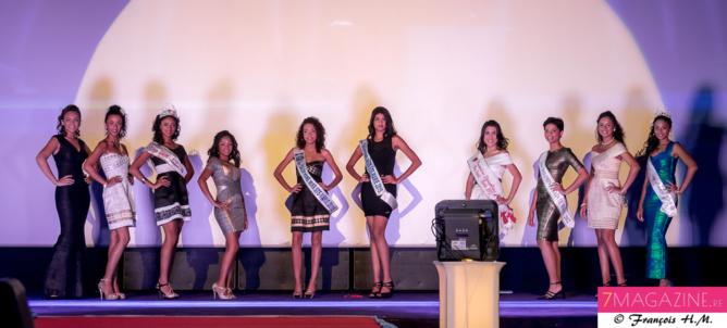 Un show mode a aussi été présenté par des anciennes Miss ou dauphines