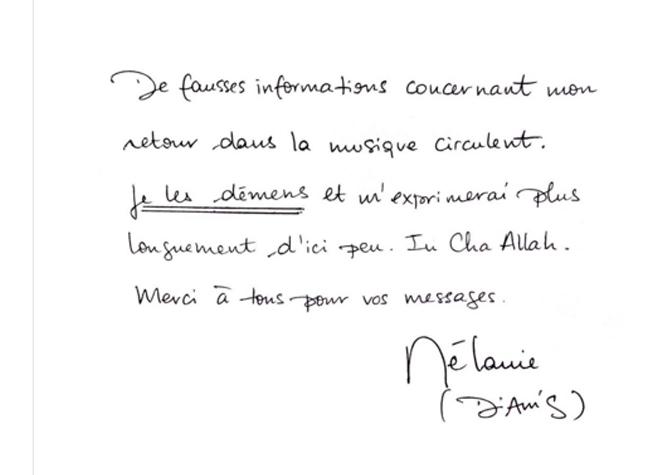 Diam's: son nouveau compagnon ex salafiste repenti