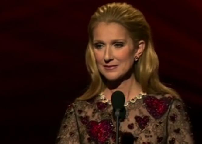 En larmes, Céline Dion reçoit un prix honorifique pour René