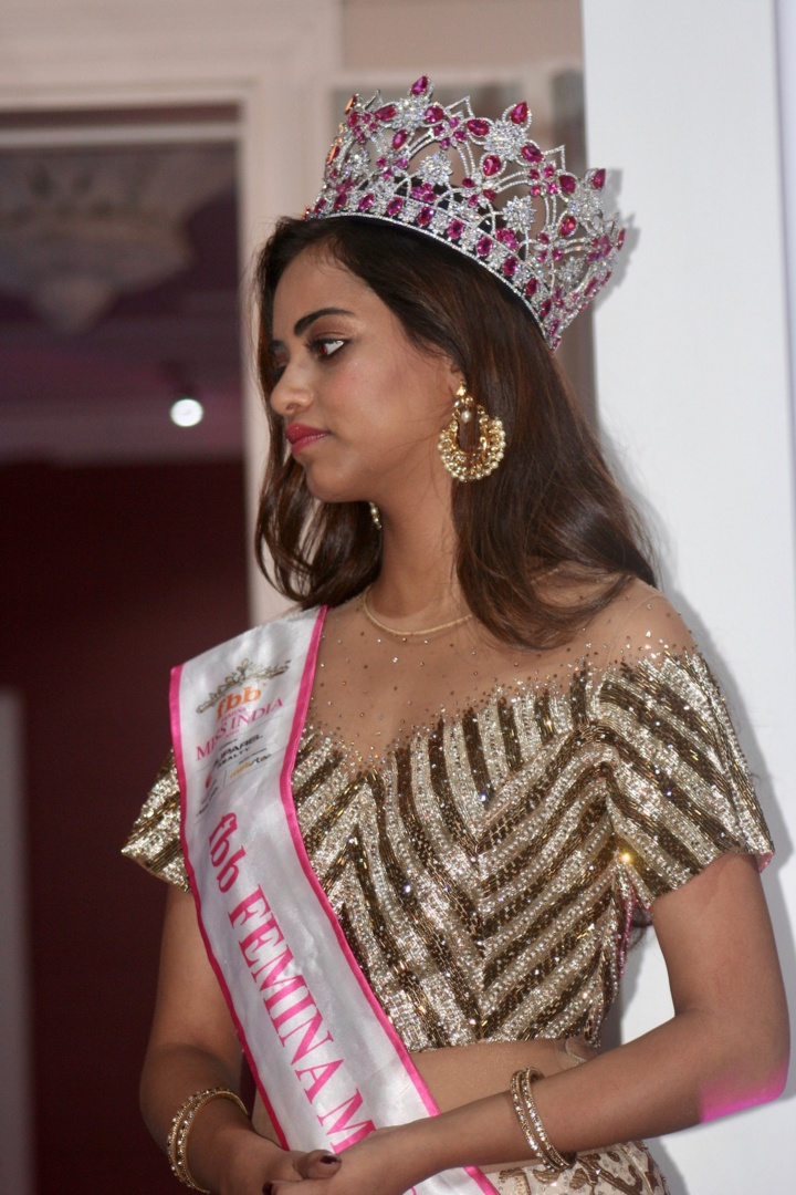 Miss India accueillie en star à La Réunion