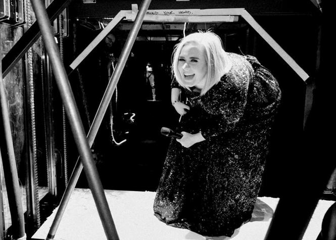Adele et son baby blues