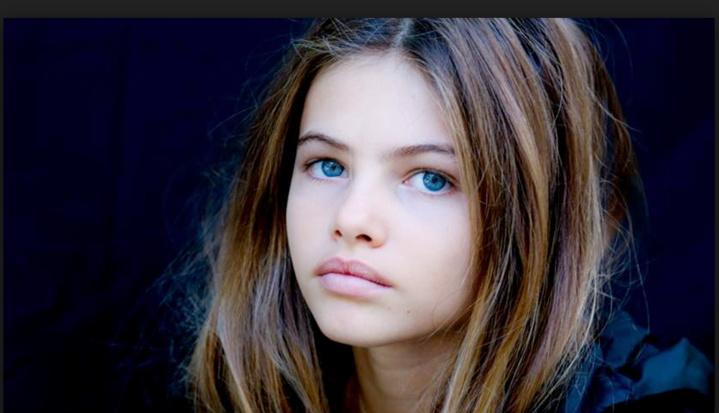 """"""" La plus belle petite fille du monde"""", sublime à 15 ans!"""