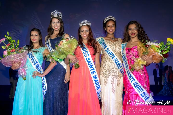 Marine Laude élue Miss Sainte-Marie 2016