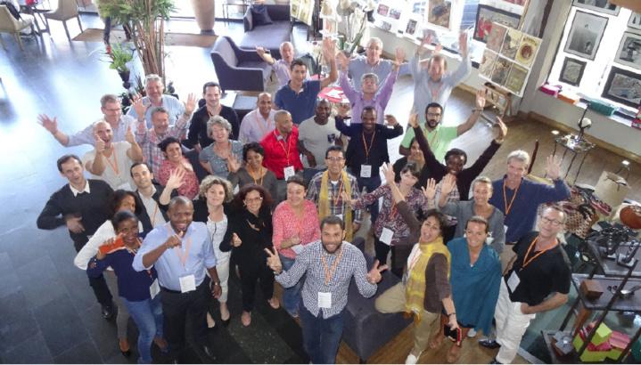 30 entrepreneurs réunionnais du CJD au coeur d'un événement exceptionnel.