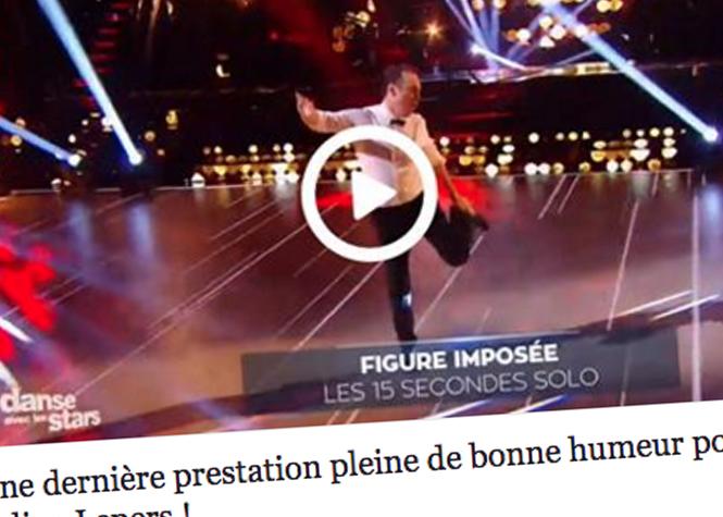 DALS : bye bye Julien Lepers !