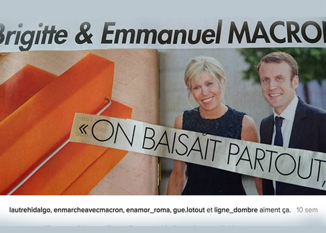 Macron : sa supposée double vie amuse sa femme