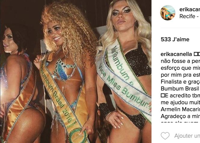 Elle a les plus belles fesses du Brésil !