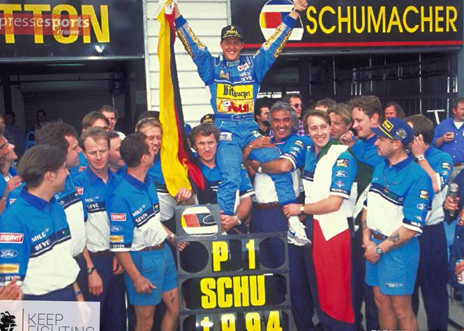 Michaël Schumacher est revenu sur les réseaux sociaux