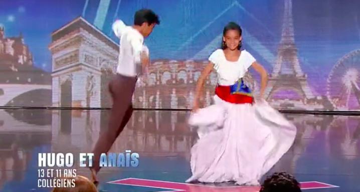 Oui pour Anaïs et Hugo dans La France a un Incroyable Talent
