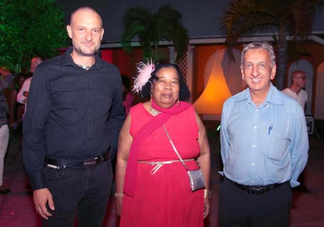 Mama Dolorès, artiste, était présente