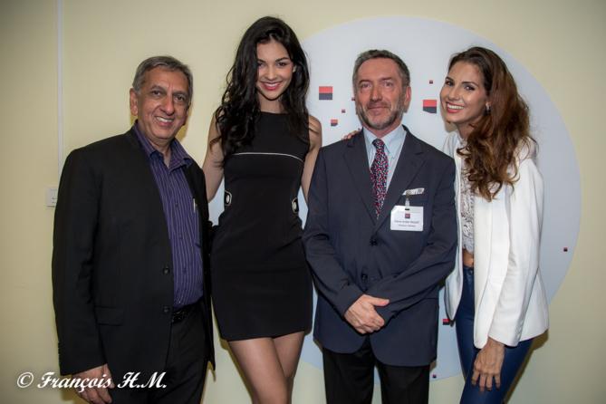 Aziz Patel, Azuima Issa, Pierre-André Taulet et Marie Payet