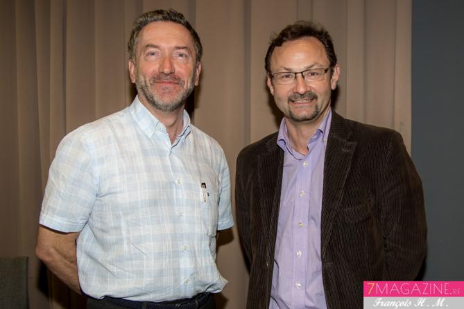 Pierre-André Taulet, directeur de la BFC-OI, et Christian Oberlé, directeur régional d'Air France