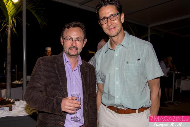 Christian Oberlé et Philippe Jean Pierre
