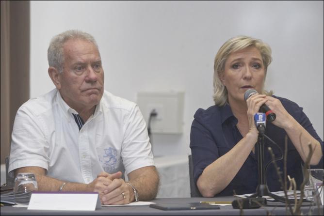 Marine Le Pen à La Réunion: après le Brexit, prête pour le Frexit !