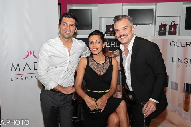 Julien Fagaoga, Asma Ingar et José-Luis Yuvé