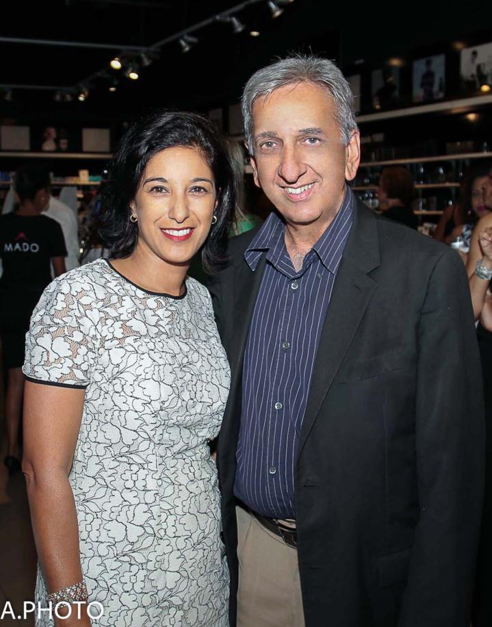 Linda Garjah et Aziz Patel