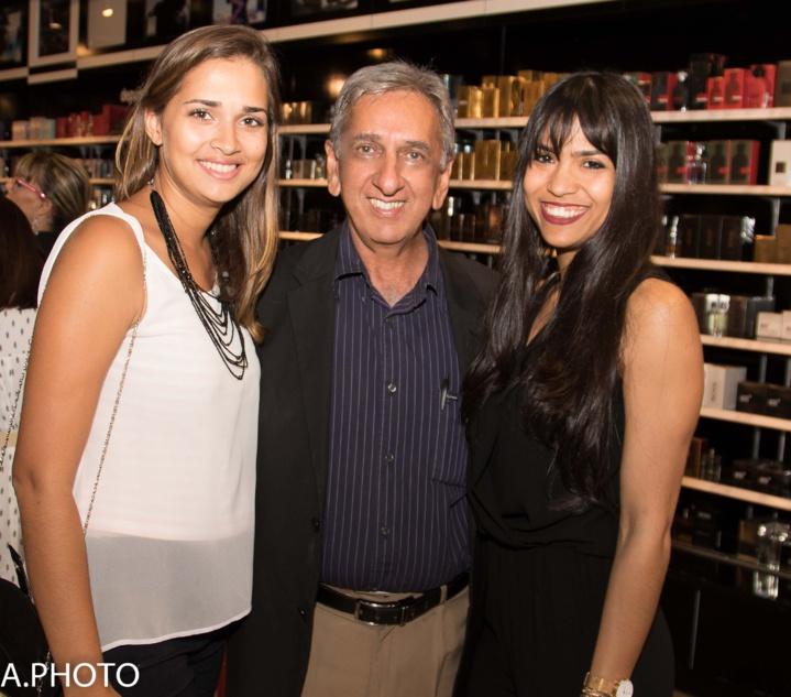 Anne-Gaëlle Laterrière, 1ère dauphine Miss Réunion 2014, Aziz Patel, et Sohini