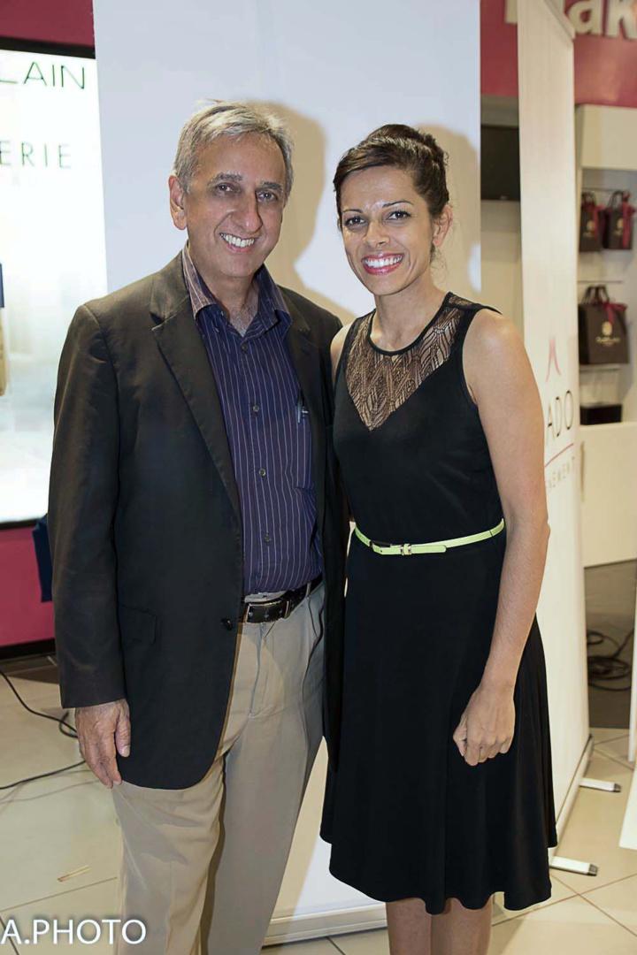 Aziz Patel et Asma Ingar
