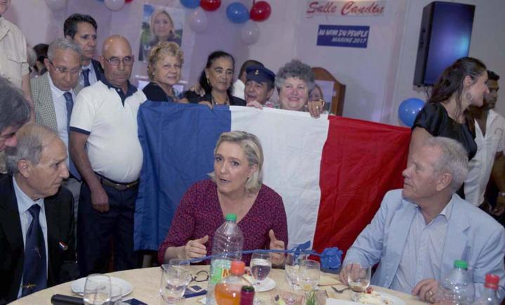 Un dîner avec Marine Le Pen...