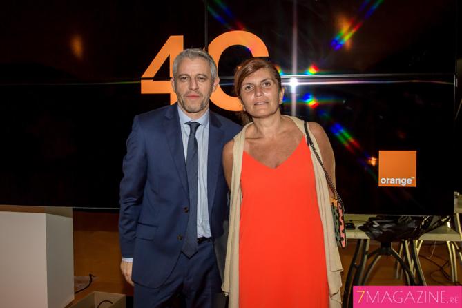 Xavier Pichon et Mireille Helou