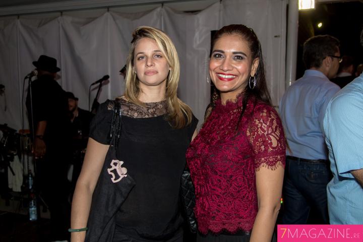 Hanna Alibaye et Shenaz Ghanty