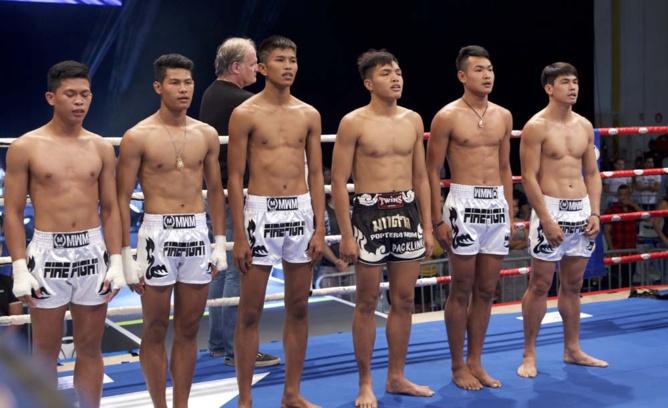 Les invités thaïlandais