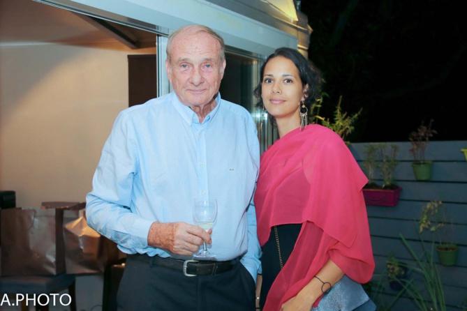 Emmanuelle Fillot et son père