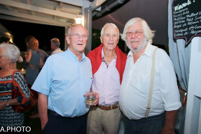 Jean-Marie Lavaivre, Jean-Claude Vallée, et Roland Bénard