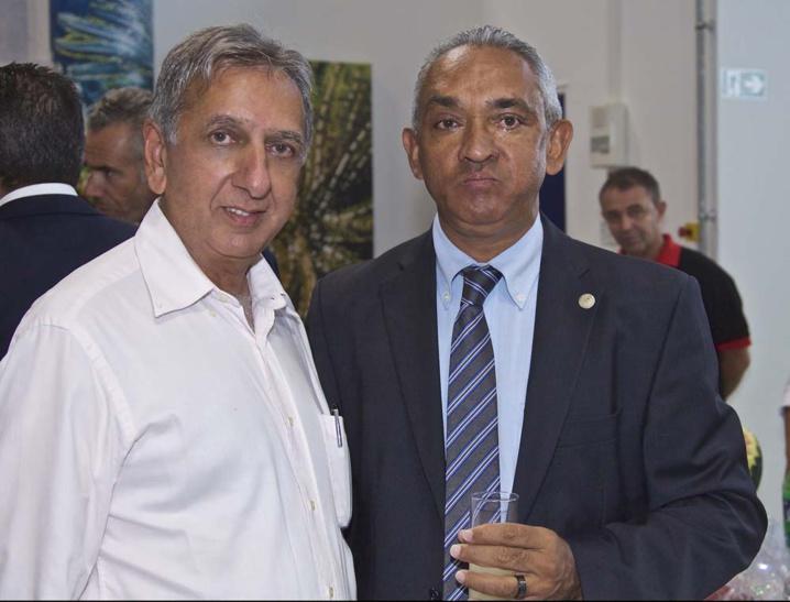 Aziz Patel et André Ramsamy