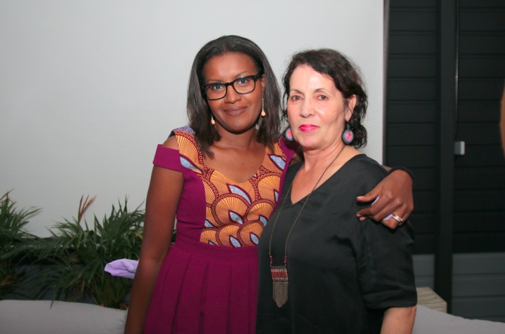 Nailaty Salaun coordinatrice sociale et Catherine Courtois