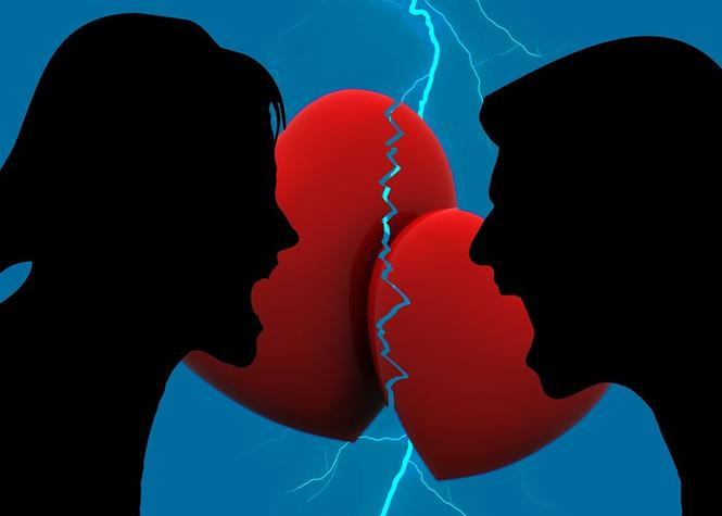 Alerte couples: Risque de rupture élevé aujourd'hui!