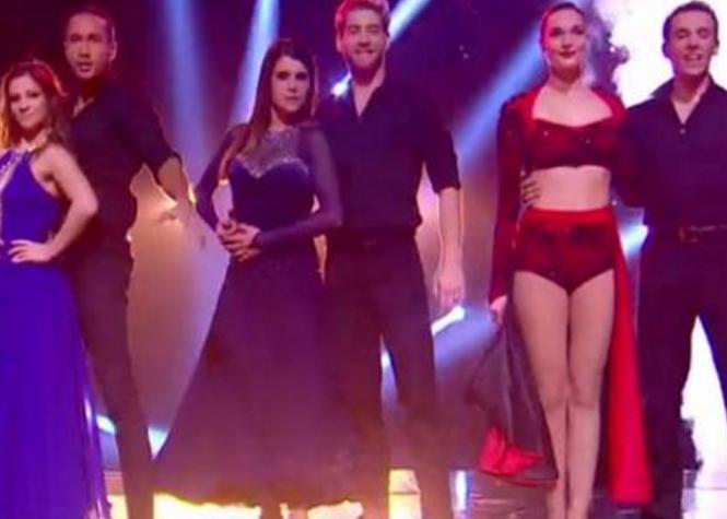 Camille Lou, Artus et Laurent Maistret en finale de Danse avec les Stars