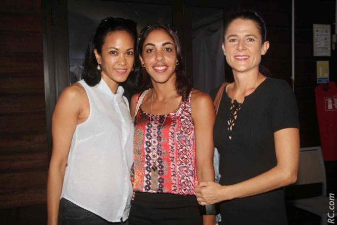 Magalie Work-Tai, Sabine Fontaine et Valérie Di Paola, de Ouest Trail sont partantes pour l'UTRB