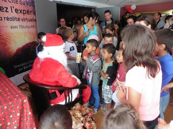 La magie de Noël pour des enfants de la Plaine des Cafres