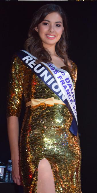 Miss Réunion 5ème dauphine de Miss France 2017