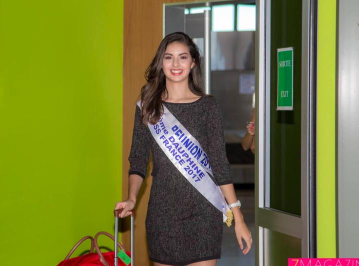 Ambre N'Guyen, 5ème dauphine de Miss France, de retour