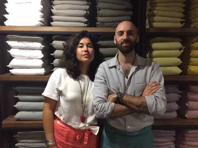Caro et Gui: les designers tropicaux de l'Appartement 2
