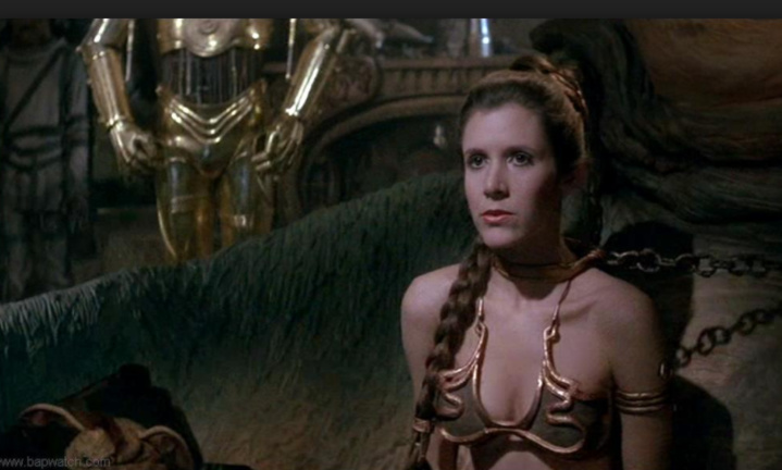 La Princesse Leia s'est éteinte
