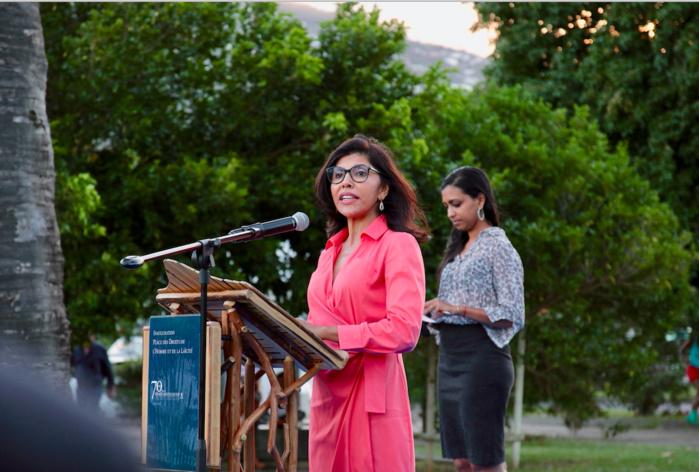 La Présidente du Conseil Départemental de La Réunion, Nassimah Dindar, a tenu à souligner l'importance du projet et valeurs véhiculées par cette inauguration pour notre île