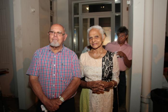 Alain-Marcel Vauthier et madame Camalon