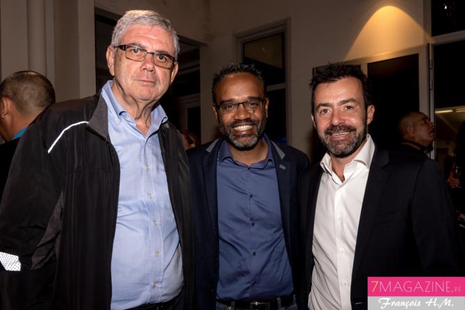 Raymond Lauret, Olivier Dejean, gérant de la société Vert M Prod, et Yann de Prince