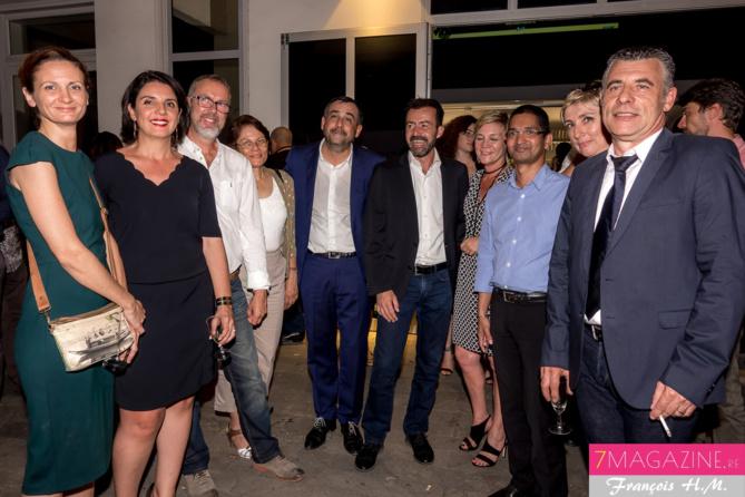 Le Comité de direction de la SHLMR, avec Yann de Prince, le président