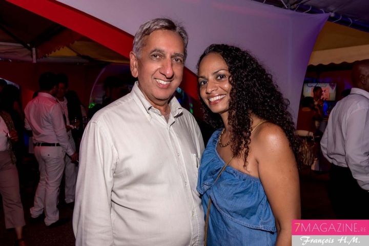 Aziz Patel et Roxane Marguerite, administratrice SHLMR