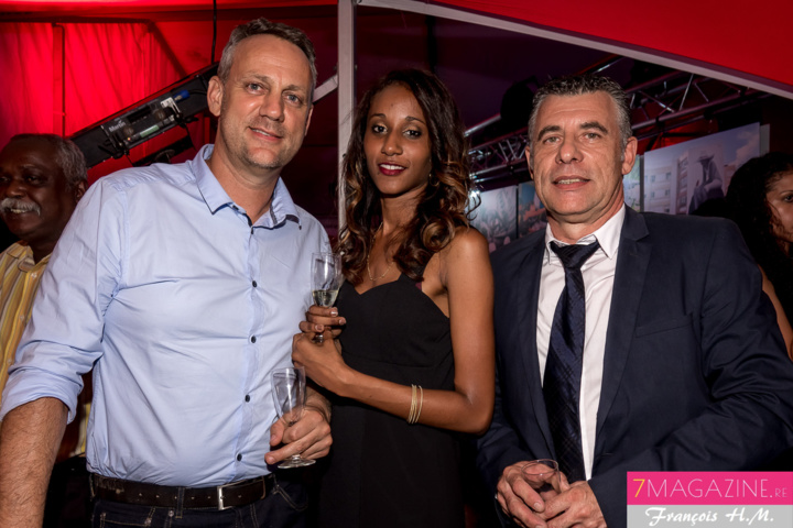 Jean-Philippe, photographe, Angela Iry de la SHLMR, et Michel Anselme