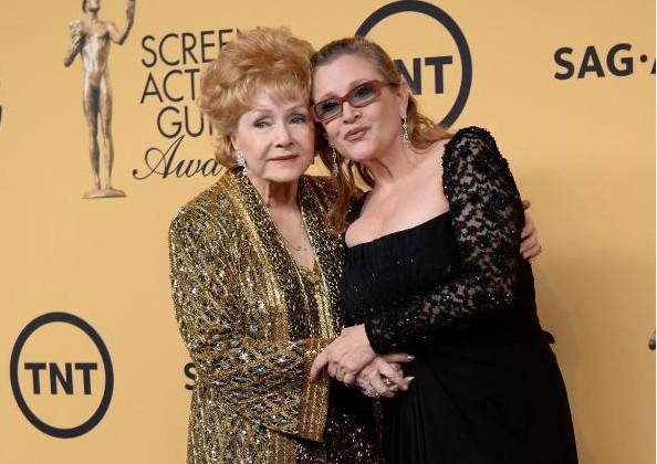 Carrie Fisher et Debbie Reynolds: la mère et la fille réunies dans leur dernière demeure